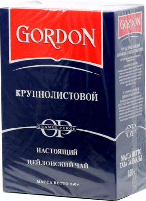 GORDON. OP 250 гр. карт.пачка