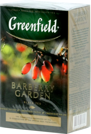 Greenfield. Barberry Garden 100 гр. карт.пачка