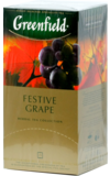 Greenfield. Festive Grape карт.пачка, 25 пак.