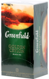 Greenfield. Golden Ceylon карт.пачка, 25 пак.