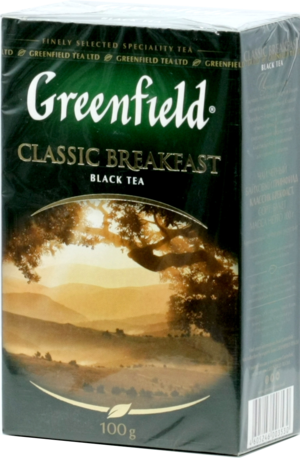 Greenfield. Classic Breakfast 100 гр. карт.пачка