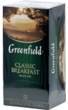 Greenfield. Classic Breakfast карт.пачка, 25 пак.