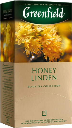 Greenfield. Honey Linden карт.пачка, 25 пак.