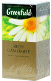 Greenfield. Rich Camomile карт.пачка, 25 пак.