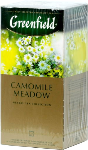 Greenfield. Camomile Meadow карт.пачка, 25 пак.