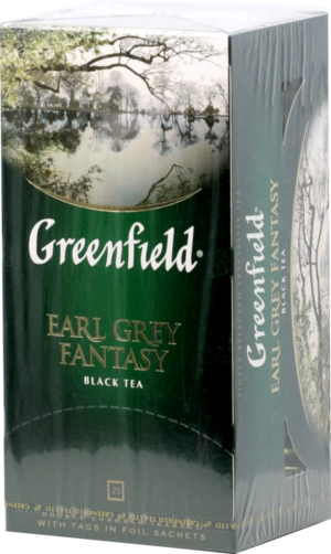 Greenfield. Earl Grey Fantasy карт.пачка, 25 пак.