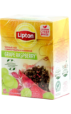 Lipton. Grape Raspberry пирамидки карт.пачка, 20 пирамидки