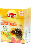 Lipton. Tropical Fruit пирамидки карт.пачка, 20 пирамидки