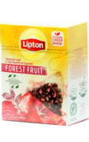 Lipton. Forest Fruit пирамидки карт.пачка, 20 пирамидки
