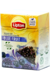 Lipton. Blue Fruit пирамидки карт.пачка, 20 пирамидки