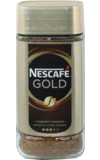 Nescafe. Gold 190 гр. стекл.банка