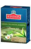 RISTON. Green Tea With Jasmine 100 гр. карт.пачка
