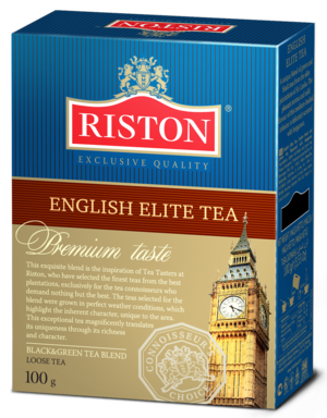 RISTON. English Elite Tea 100 гр. карт.пачка