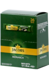 Jacobs. Monarch 46,8 гр. карт.пачка, 26 пак.