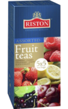 RISTON. Assorted Fruits Tea карт.пачка, 25 пак.