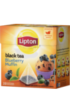 Lipton. Blueberry Muffin пирамидки карт.пачка, 20 пирамидки