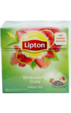 Lipton. Strawberry Cake пирамидки карт.пачка, 20 пирамидки