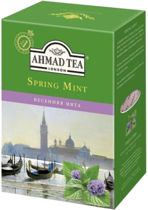 AHMAD. SPRING MINT 165 гр. карт.пачка