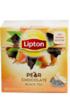 Lipton. Pear Chocolate карт.пачка, 20 пирамидки