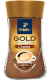 Tchibo. Gold Selection Crema 95 гр. стекл.банка