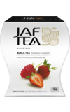 JAF TEA. Strawberry&Raspberry 100 гр. карт.пачка