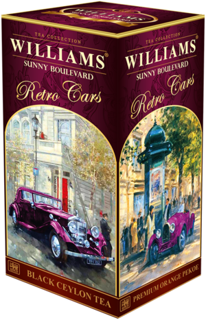 WILLIAMS. Retro Cars. Sunny Boulevard 200 гр. карт.пачка