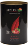 Sun Leaf. Black Tea Strawberry 75 гр. картонная туба