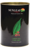 Sun Leaf. Green Tea Earl Grey 75 гр. картонная туба