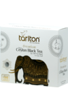 TARLTON. Golden Ceylon Black Tea 200 гр. карт.пачка, 100 пак.