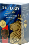 Richard. English Breakfast 90 гр. карт.пачка