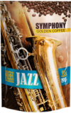 Symphony Jazz. Symphony Golden Coffee Jazz 190 гр. мягкая упаковка