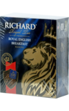 Richard. Royal English Breakfast карт.пачка, 100 пак.
