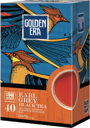 GOLDEN ERA. Earl Grey 250 гр. карт.пачка