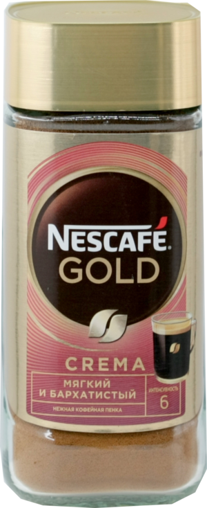 Nescafe. Gold Crema 95 гр. стекл.банка
