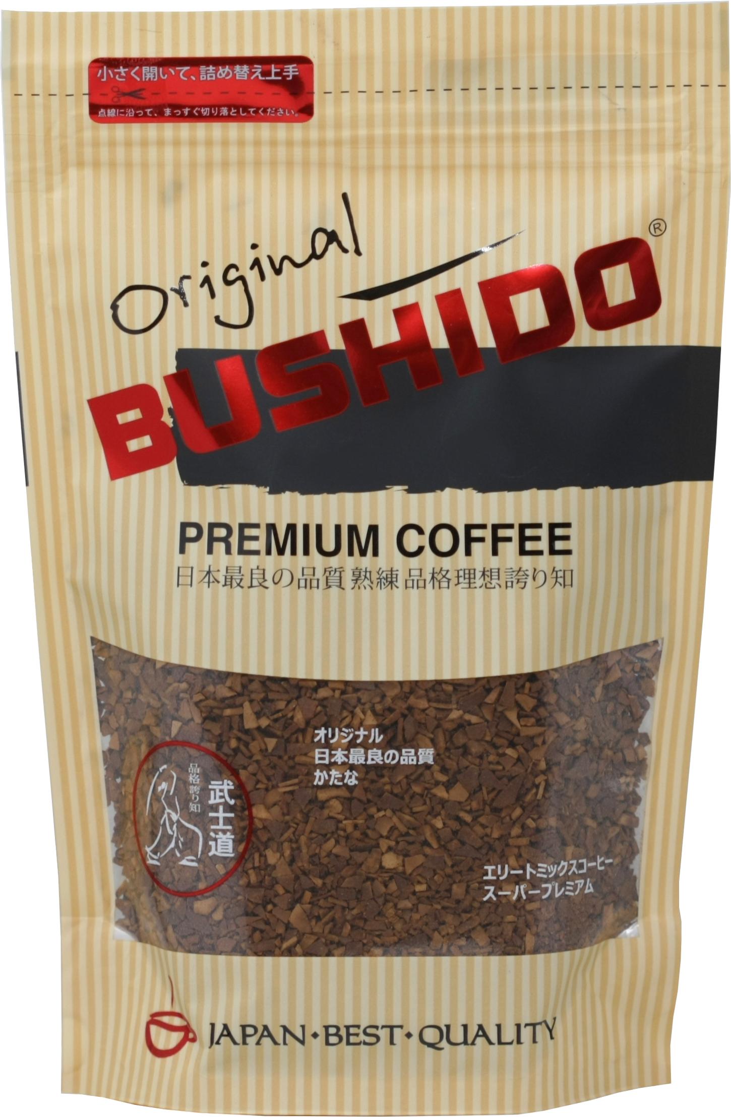 BUSHIDO. Original 75 гр. мягкая упаковка