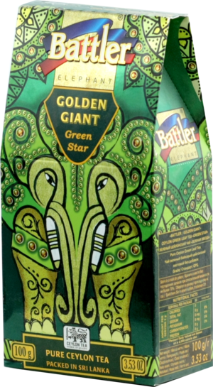 Battler. Золотой гигант/Golden Giant Green Star 100 гр. карт.пачка