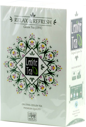 Leoste Tea. Relax&Refresh 75 гр. карт.пачка