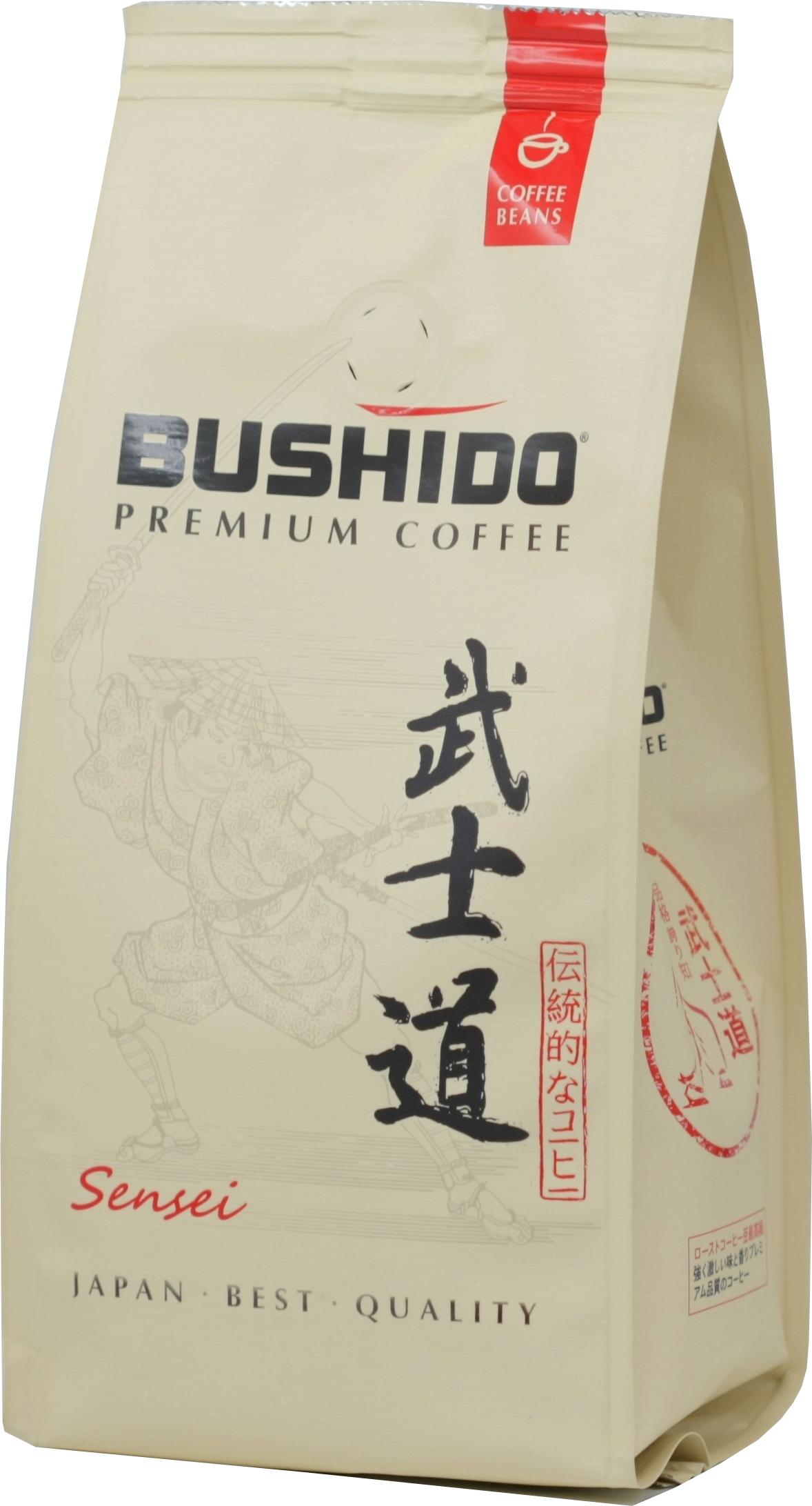 BUSHIDO. Sensei зерно  227 гр. мягкая упаковка