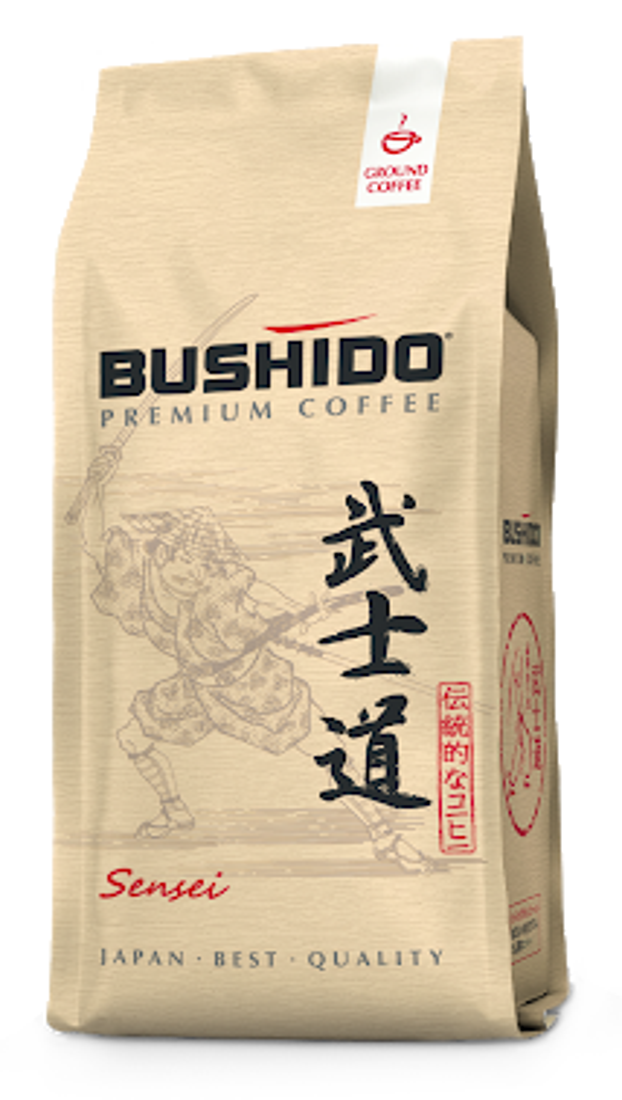 BUSHIDO. Sensei молотый 227 гр. мягкая упаковка