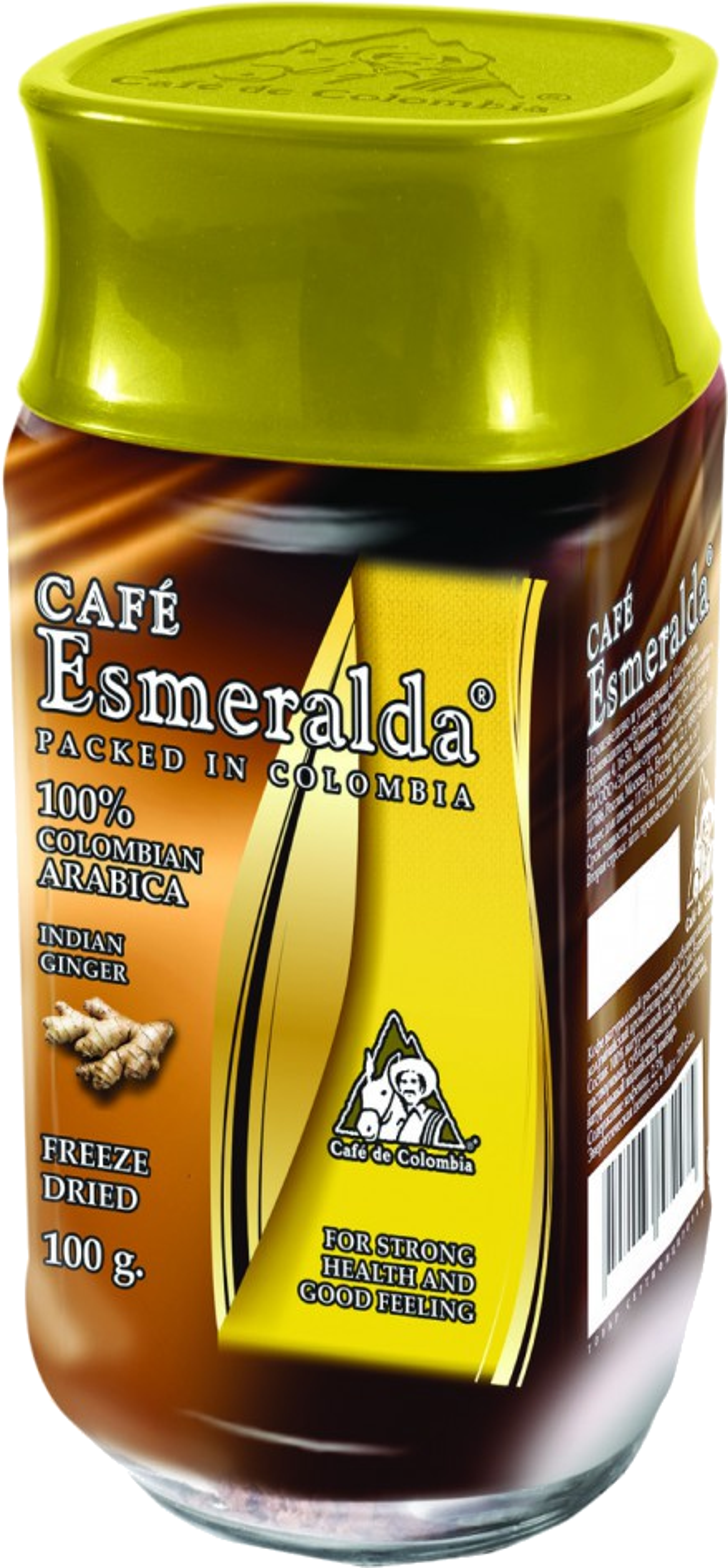 Cafe Esmeralda. Cafe Esmeralda натуральный имбрь 100 гр. стекл.банка