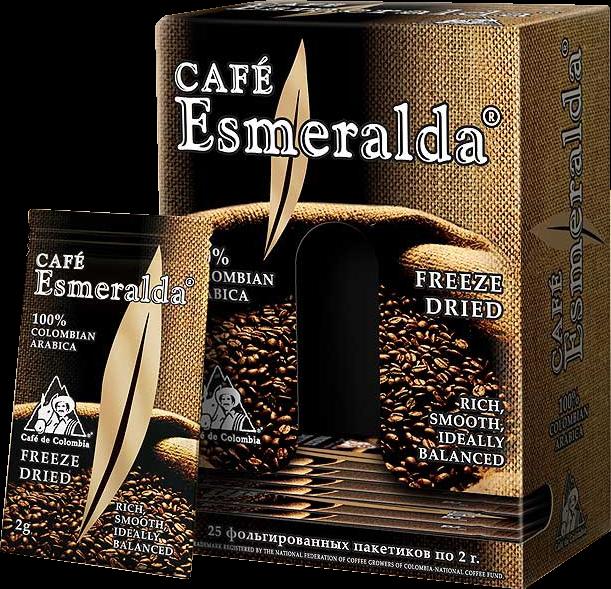 Cafe Esmeralda. Cafe Esmeralda карт.пачка, 25 пак.