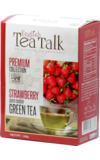 English Tea Talk. Green tea Strawberry 100 гр. карт.пачка