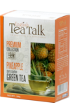 English Tea Talk. Green tea Pineapple 100 гр. карт.пачка