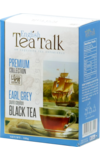English Tea Talk. Black tea Earl Grey 100 гр. карт.пачка