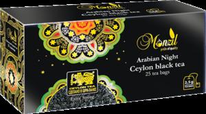 Monzil. Арабская ночь карт.пачка, 25 пак.
