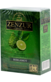 Zenzur. Bergamot green tea 100 гр. карт.пачка