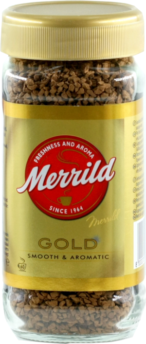 Merrild. Gold Smooth and Aromatic 100 гр. стекл.банка