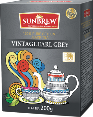 Sunbrew. Vintage Earl Grey 200 гр. карт.пачка