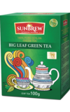 Sunbrew. Big Leaf Green Tea 100 гр. карт.пачка