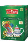 Sunbrew. Big Leaf Green Tea 200 гр. карт.пачка